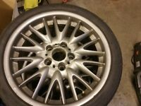 BMW MV1 genuine alloys with tyres full set updated paint