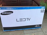 """Samsung 40"""" LED flat screen TV for sale."""