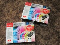 HP Comp' Cartridges H364XL 2 Multi packs [3 colour+2 black