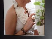 Linea Raffaelli 2 piece wedding dress