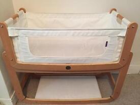 Snuzpod bedside cot