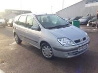 RENAULT MEGANE SCENIC 1.6 16V Expression + 5dr Auto (silver) 2003