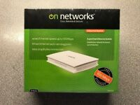 On Networks 8 Port Ethernet Switch