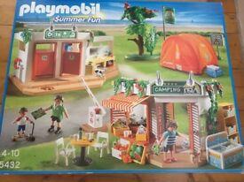 Playmobile summer fun campsite set 5532