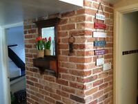 Brick slips and tiles installation specialists ~ interior feature walls & exterior cladding