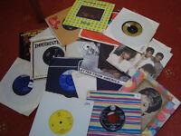 50 vinyl 45 rpm records.