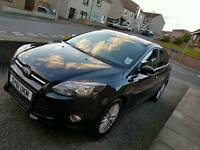 Ford Focus 1.6 zetec (125) Panther Black with appearance pack