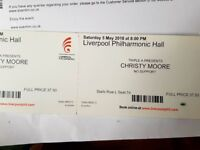 Christy Moore tickets - Liverpool 5 May
