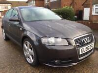 Audi A3 S LINE panoramic roof