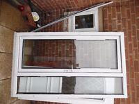 upvc back door combi £55 with 1 key