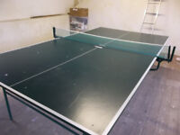 Kettler Sport portable table tennis table and net