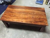 Indian Rosewood Coffee Table Good Condition