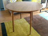 Wooden Drop Leaf Table - 106cm (64cm with Leaves Down) 73cm High - will Deliver Free within Ipswich