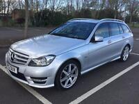 Mercedes-Benz C Class 1.8 C180 BlueEFFICIENCY Sport 7G-Tronic 5drSat Nav, Full Hstry, New Tyres