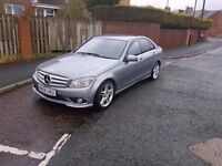 2010 mercedes c220 (250) cdi sport auto amg immaculate car great spec full merc history