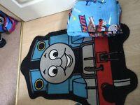 Thomas mat and curtains