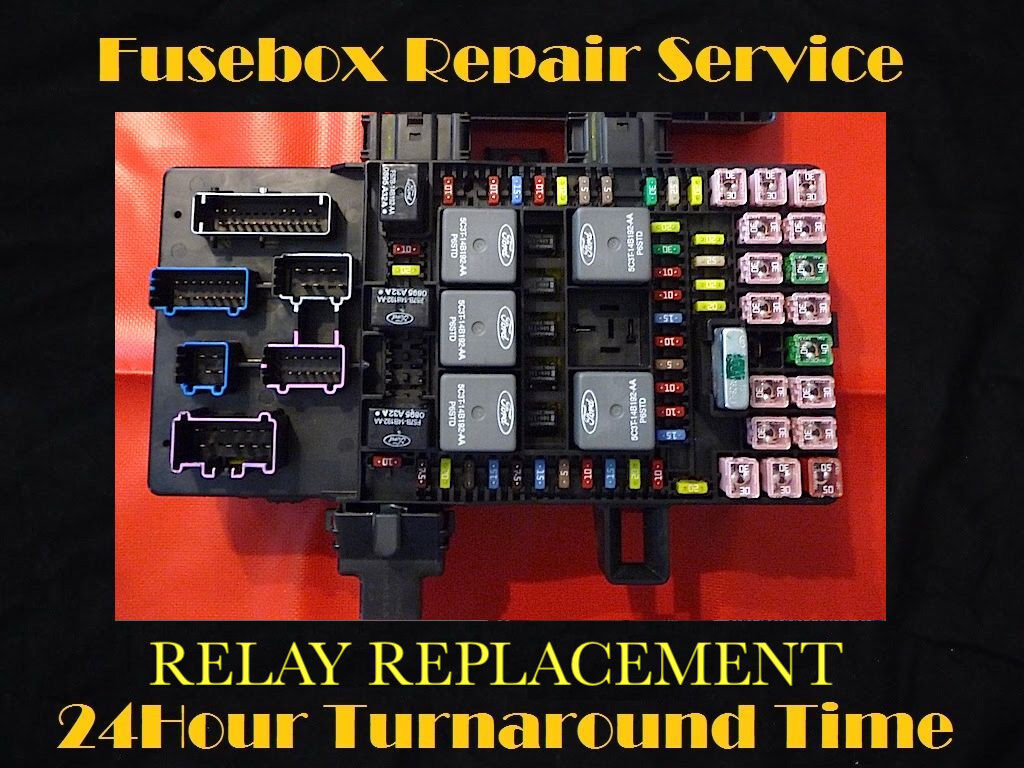 """2003 -2006 EXPEDITION / NAVIGATOR BCM FUSE BOX RELAY """"REPAIR SERVICE"""""""