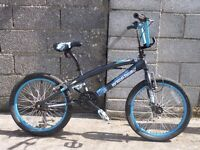 black blue bmx style 20''