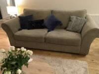 Next Sofa and 2 arm chairs