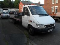 Mercedes Sprinter 311 CDI Recovery Truck 2005 NO VAT_ Spares or Repairs