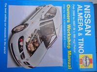 Nissan Almera & Tino Haynes workshop manual