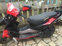 Pulse 125cc Moped Spares/Repair with Long MOT