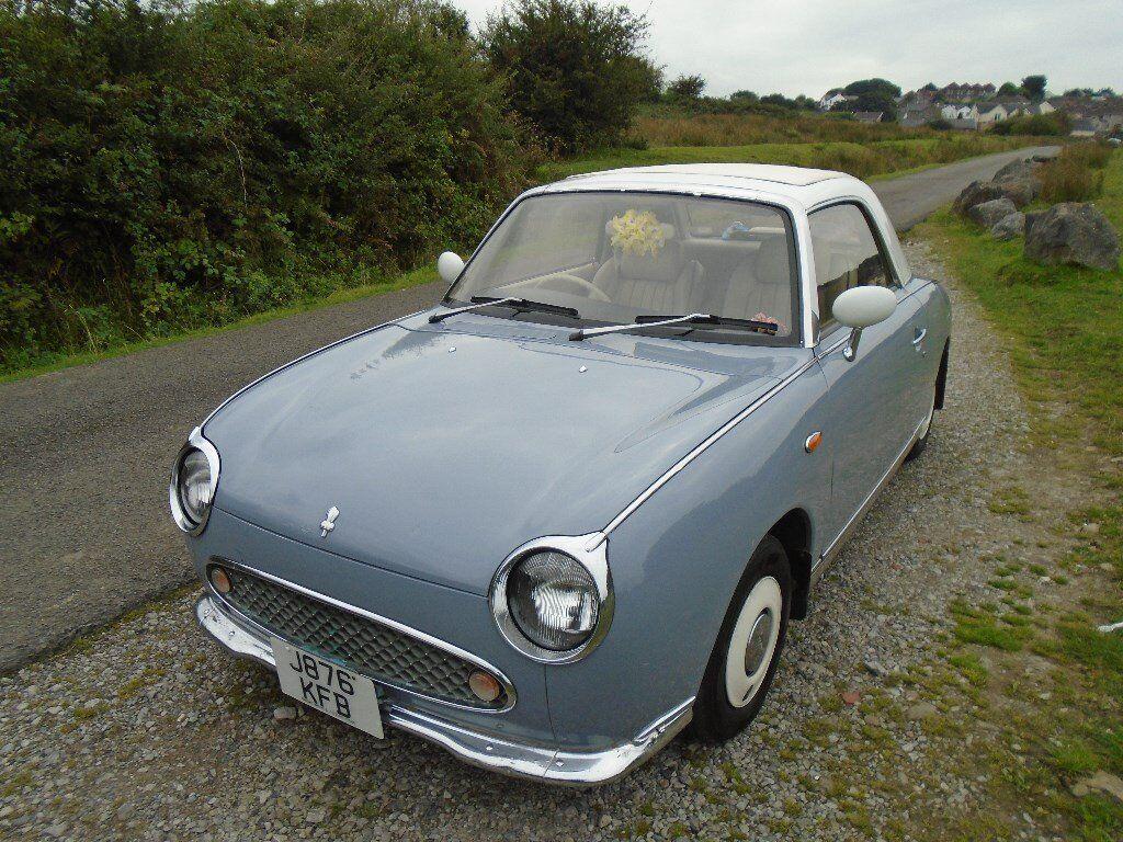 MY RARE NISSAN FIGARO CLASSIC CAR CONVERTIBLE AUTOMATIC RETRO ...