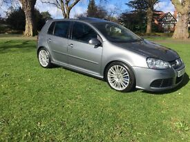 Grey Volkswagen Golf R32 MK5 5DR DSG Sunroof Heated Leather Seats FSH Low Owners High Spec!