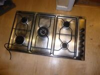 5 ring gas hob with manual