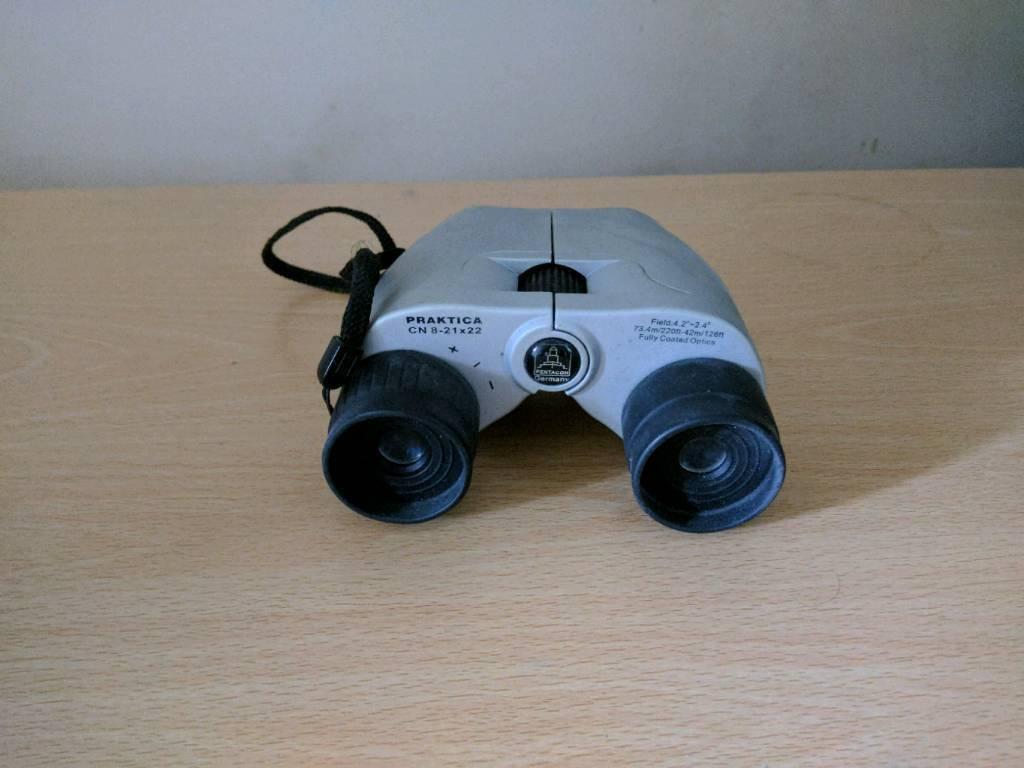Praktica binoculars with pouch in norwich norfolk gumtree