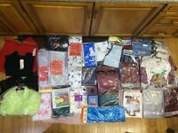 Assorted Clothing and other items (New) - Perfect for markets / car boot sales