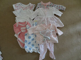 Baby Girl Clothing for Tiny Baby up to 7.5lb