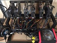 ethereum bitcoin mining Rig 180 Mh/s mine any crypto