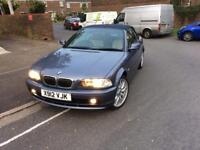 Bmw 320 e46 2.2 petrol 170bhp low milage sport leather seats