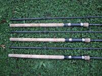Carp Fishing Rods, Nash Dwarf, Nash Outlaw, Wychwood Extricator, ETC