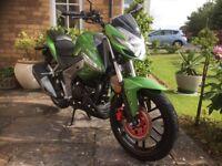 Kymco CKI Green 125cc 4 Stroke Engine Motor bike