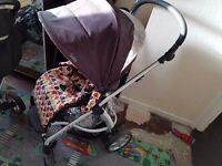 Mama and papas sola stroller. Clean. Great condition Raincover. Was used for 1 year.
