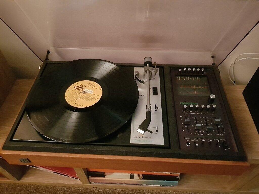 Vintage Dynatron stereo system