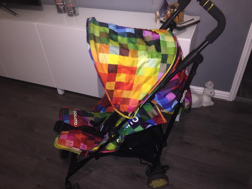 Cosatto pixelate supa stroller
