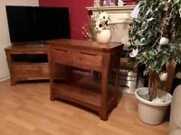 "Oak furniture land ""Orrick "" Console Table"