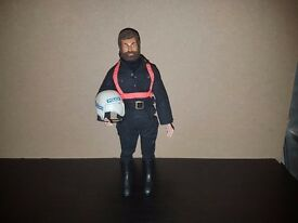 Rare Vintage Action Man Motor Cycle Police