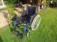 INVACARE Action 3 Self Propelling Wheelchair