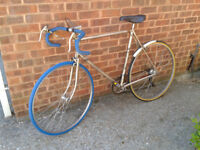 Triumph Tempest (Raleigh) British Retro Vintage Road Racing Bike 10 Speed Simano 1960s FREE DELIVERY