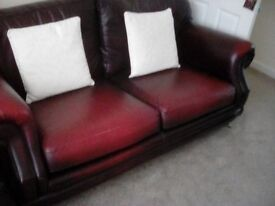 Consort 3 Seater Sofa by Thomas Lloyd Antique Red