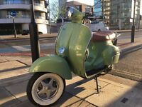 Neco Abruzzi 125 - immaculate one year-old retro Vespa styled scooter