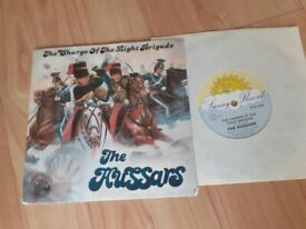 The hussars - charge of the light brigade 7 inch