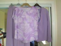 Jacque Vert Lilac outfit