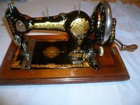 Jones Family Vintage Sewing Machine