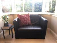 Genuine Leather Sofa 3 seats + 1 armchair