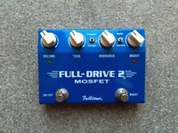 Fulltone Fulldrive 2 MOSFET - Overdrive/Distortion Guitar Effects Pedal